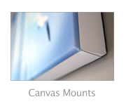 Canvas mounts